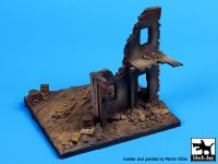 D72009 1/72 House ruin Europe base Blackdog