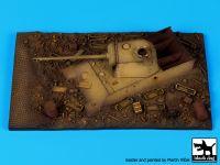 D72019 1/72 Destroyed Panther base Blackdog