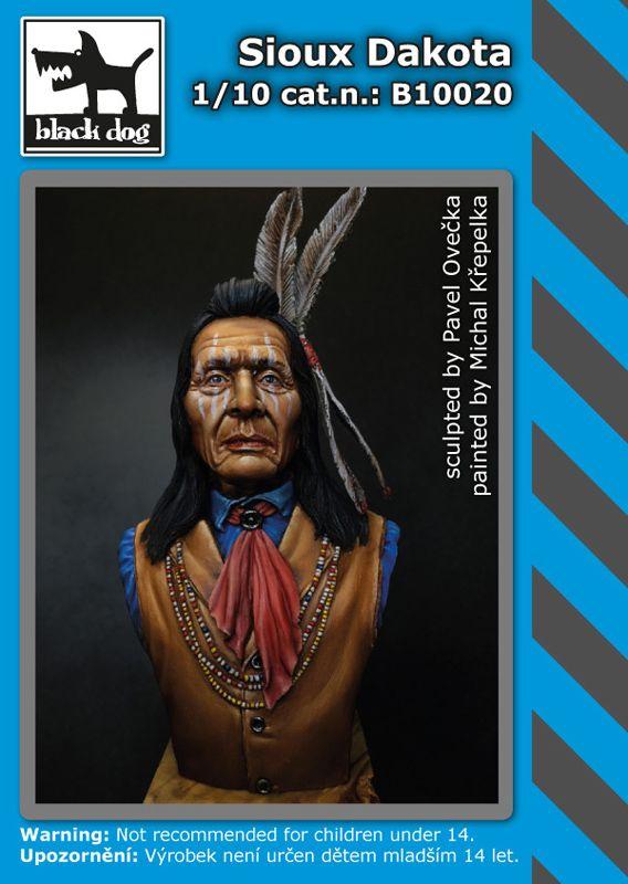 B10020 Sioux Dakota Blackdog
