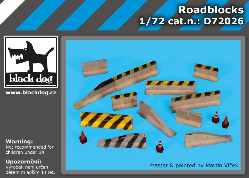 D72026 1/72 Roadblocks Blackdog