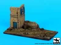 D72029 1/72 Ruined house italy base Blackdog