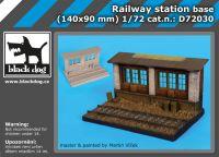 D72030 1/72 Railway station base