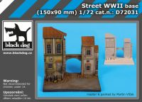 D72031 1/72 Street wwII base
