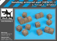 D72032 1/72 Sandbag armored wall (HESCO) 1
