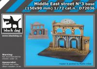 D72036 1/72 Middle East street N°3 base