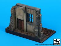 D72053 1/72 Street with house ruin N;°3 base Blackdog