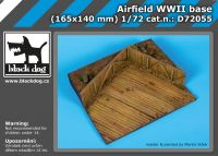 D72055 1/72 Airfield WW II base