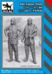 F32030 1/32 RAF pilots set 1940-1945 Blackdog