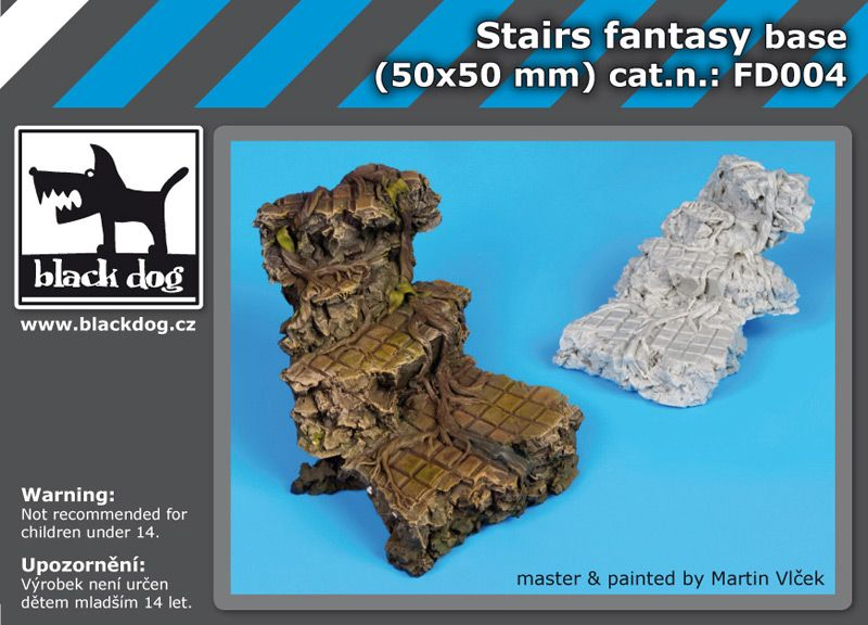 FD004 Stairs fantasy base Blackdog