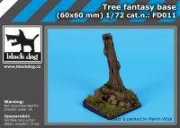 FD011 Tree fantasy base Blackdog