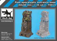 FD014 Post apocalyptic entrance base