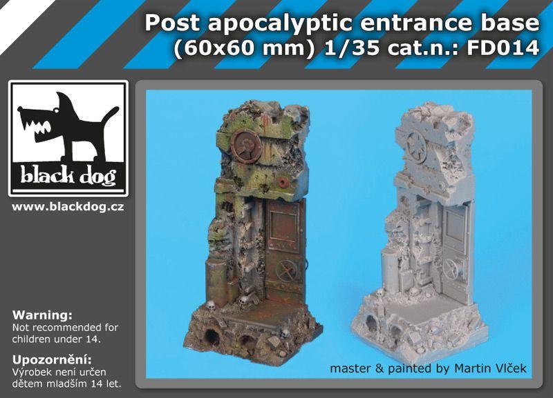 FD014 Post apocalyptic entrance base Blackdog