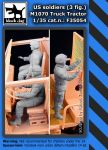 F35054 1/35 Us soldiers 3fig. M 1070 Truck tractor