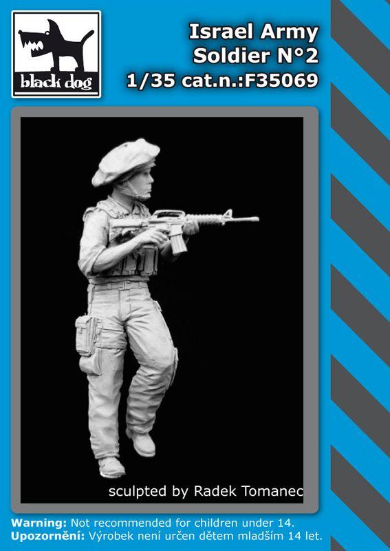 F35069 1/35 Israel army soldier N°2 Blackdog