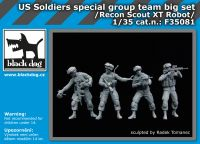 F35081 1/35 US soldiers special group team big set