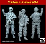 F35102 1/35 Soldier in Crimea set Blackdog