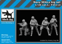 F35113 1/35 Navy Seals big set