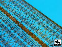 E35004 1/35Iron fence Blackdog