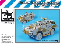 E48003 1/48 Supacat Jackal accessories set