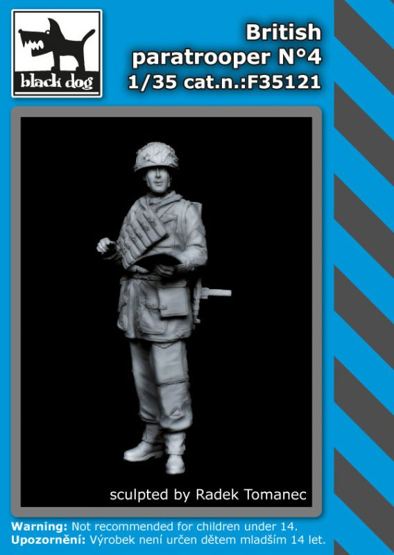 F35121 1/35 British paratropers N°4 Blackdog