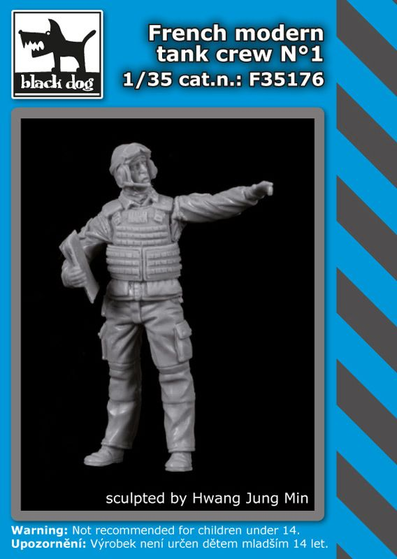 F35176 1/35 French modern tank crew N°1 Blackdog