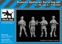 F35192 1/35 Russian Spetsnaz Syria big set