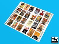 P35005 1/35 WW II U.S Propaganda posters (24 posters)