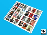 P35007 1/35 WW II Nazi collaboration Propaganda posters (24 posters)