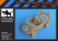 T35012 1/35 Schwimmwagen accessories set Blackdog