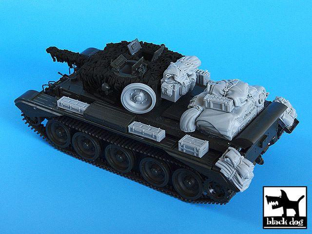 T35024 1/35 Cromwell accessories set Blackdog