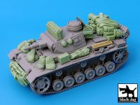 T35030 1/35 Pz.Kpfw.III Ausf.N accessories set Blackdog