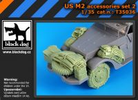 T35036 1/35 US M2 accessories set N Blackdog