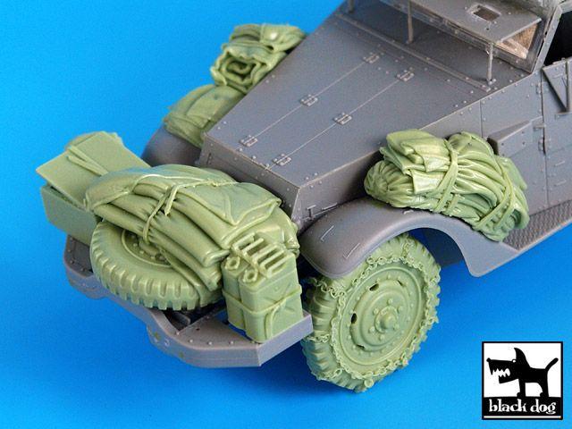 T35036 1/35 US M2 accessories set N Blackdog