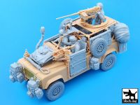 T35051 1/35 Defender Wolf accessories set with crew Blackdog