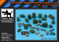 T35054 1/35 Canadian equipment accessories set Blackdog