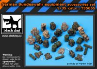 T35055 1/35 German Bundeswehr equipment accessor. Set Blackdog
