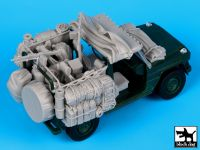 T35058 1/35 Mercedes Wolf Afganistan accessories set Blackdog