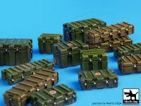 T35067 1/35 Universal modern plastic boxes accessories set Blackdog