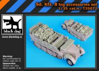 T35072 1/35Sd.Kfz 8 big accessories set Blackdog