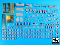 T35106 1/35 M 1083 War Pig accessories set Blackdog