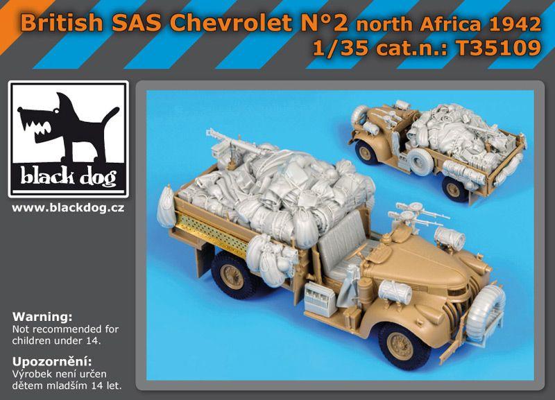 T35109 1/35 British SAS chevrolet N Blackdog