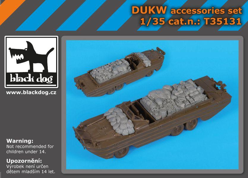 T35131 1/35 DUKW accessories set Blackdog