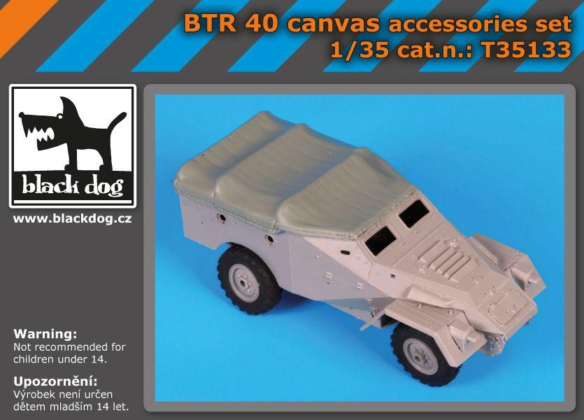 T35133 1/35 BTR 40 accessories set Blackdog