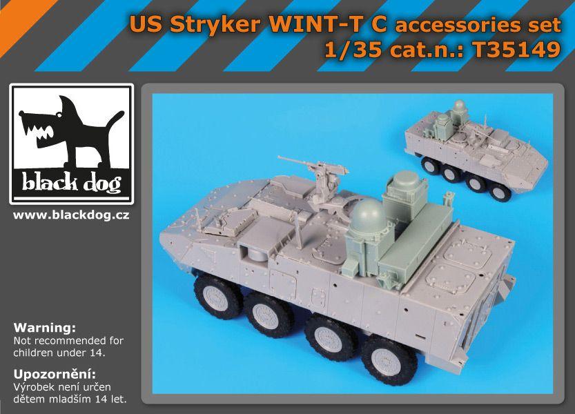 T35149 1/35 US Stryker WINT -T C accessories set Blackdog