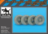 T35179 M 1117 Guardian wheels Blackdog