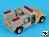 T35184 1/35 Hummer mini pumper conversion set Blackdog