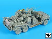 T35191 1/35 Australian Land Rover 6x6 big set complete kit Blackdog