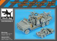 T35191 1/35 Australian Land Rover 6x6 big set complete kit