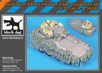 T35192 1/35 Australian ASLAV Hessian tape accessories set