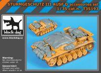 T35193 1/35 Sturmgeschutz III Ausf.D accessories set